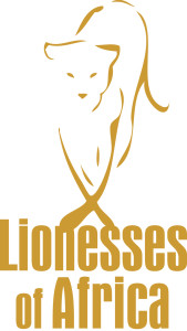 Lionesses logo Gold cc9933